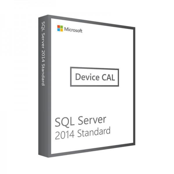 MICROSOFT SQL SERVER 2014 STANDARD DEVICE CAL