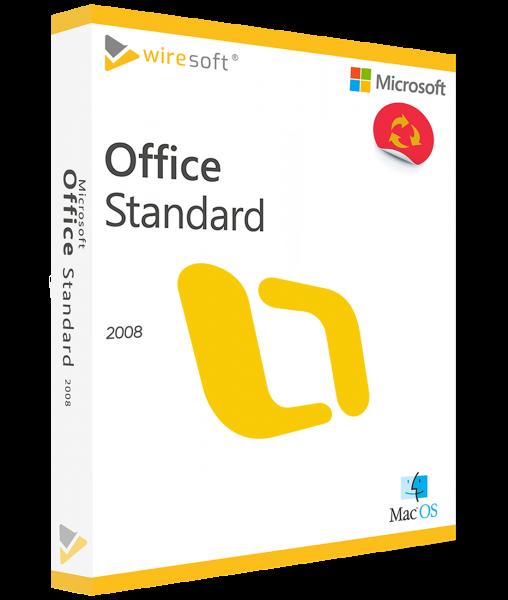 MICROSOFT OFFICE MAC 2008 STANDARD
