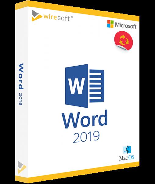 MICROSOFT WORD MAC 2019