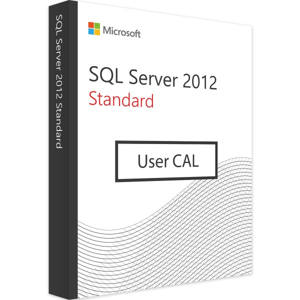 MICROSOFT SQL SERVER 2012 USER CAL