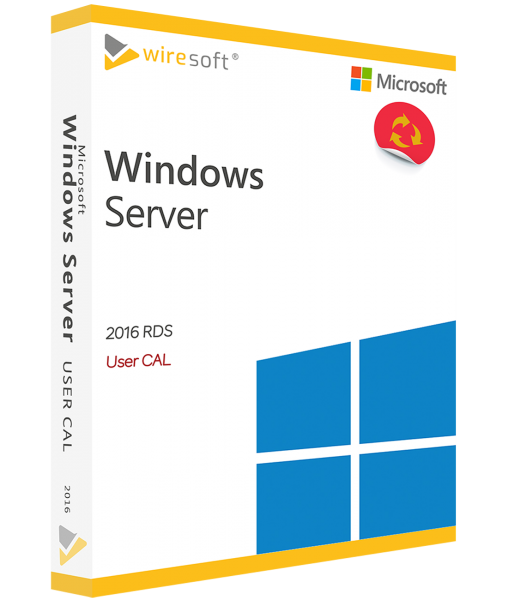 MICROSOFT REMOTE DESKTOP SERVICES 2016 USER CAL