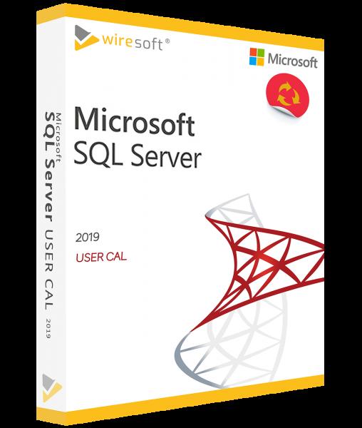 MICROSOFT SQL SERVER 2019 USER CAL