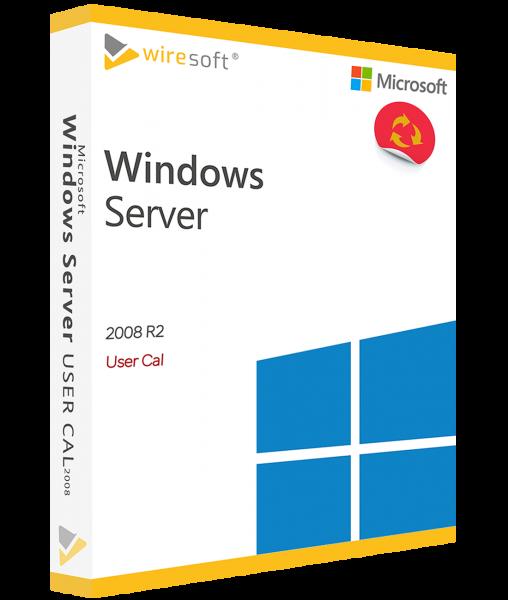 MICROSOFT WINDOWS SERVER 2008 R2 USER CAL